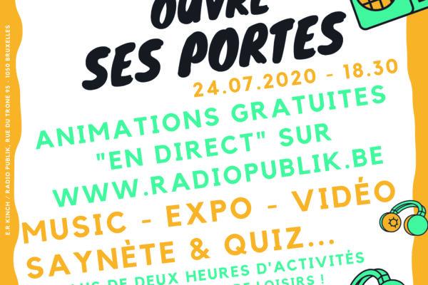 RADIO PUBLIK : OUVERTURE OFFICIELLE DE SES PORTES