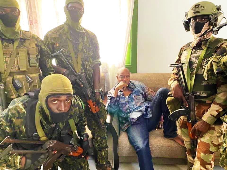 NEWS D'AfriK :  Guinée, incertitude après le renversement de Alpha Condé ?